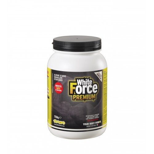 WHITE FORCE PREMIUM VANIGLIA 750G