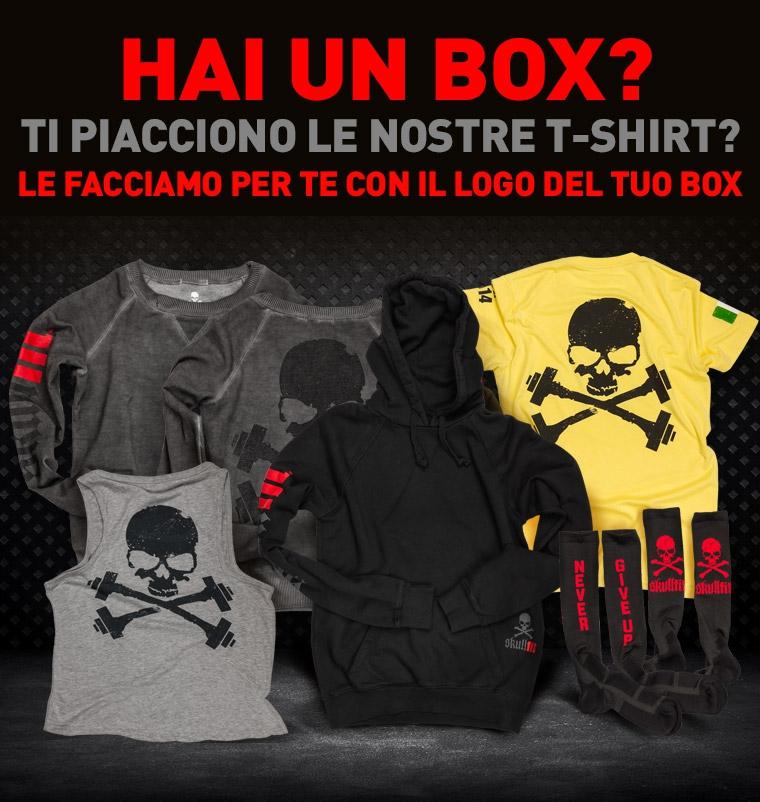 hai un box, ti piacciono le nostre t-shirt? entra e personalizza