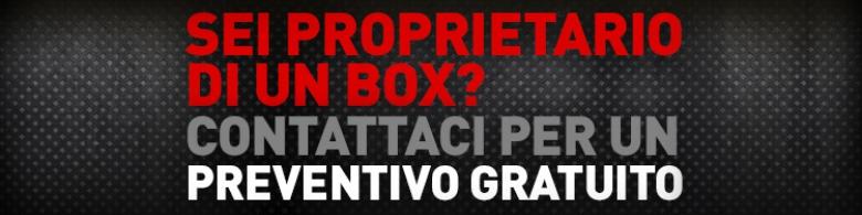Sei un proprietario di un box? contattaci per un preventivo!