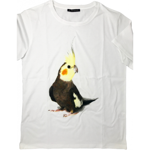 T-SHIRT BIRD CACATUA