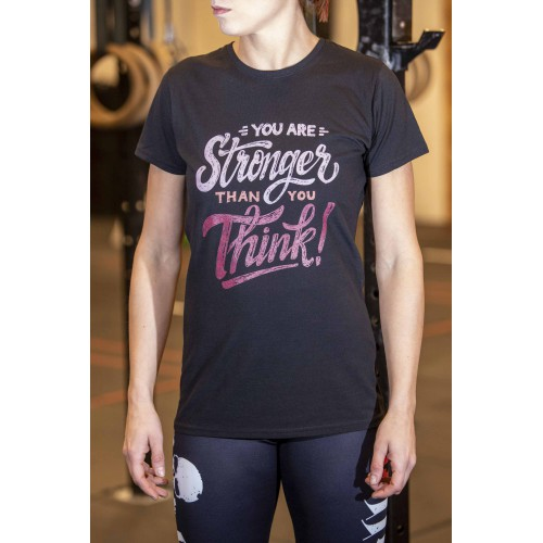 FIT STRONGER BLACK W