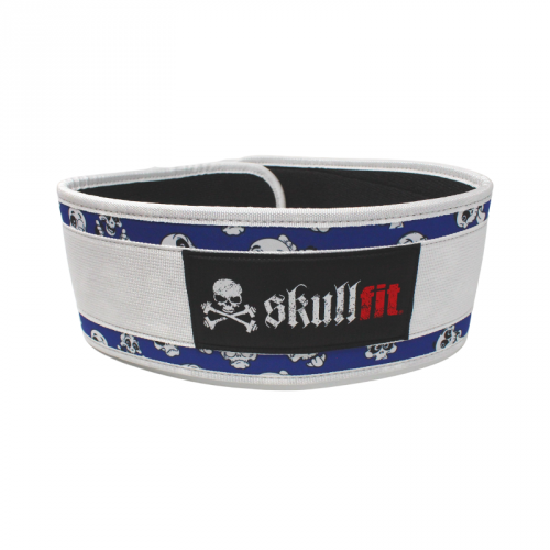 Belt cartoon skull