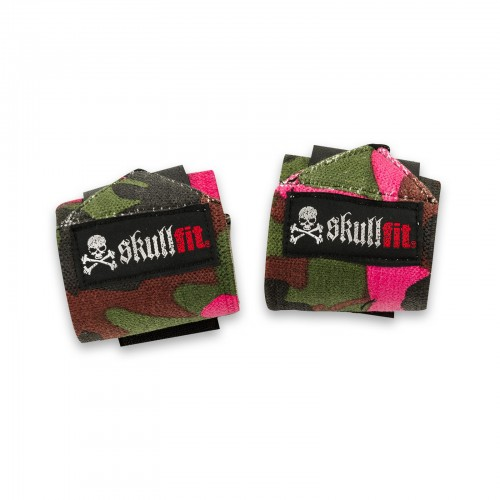 camo pink/green wristbands