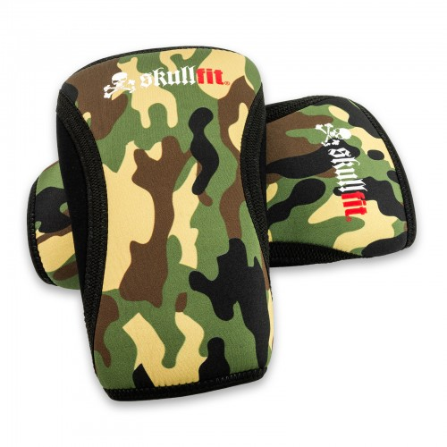 KNEE PAD CAMO GREEN
