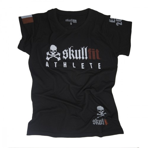 SKULLFIT ATHLETE BLACK W